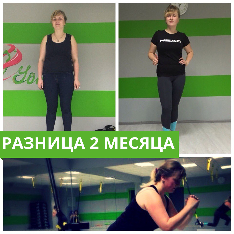 Наталья. Результат после фитнес-тестирования